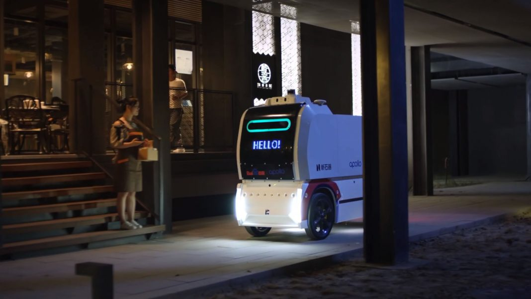 Neolix Autonomous Delivery and Logistics Vehicle